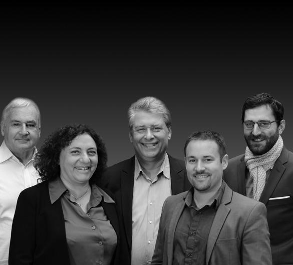 Photo de l'équipe de Methods Studio avec l'ensemble des architectes associés du groupe