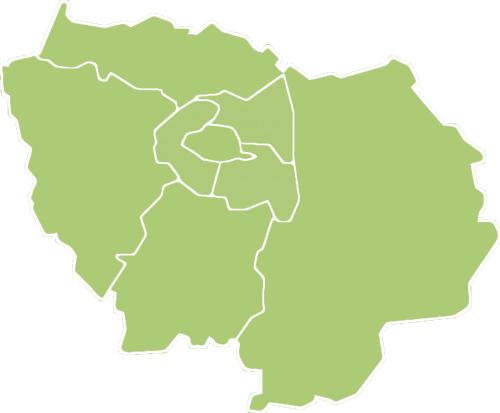 Carte simplifié de Paris