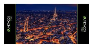 Photo illustrative de la ville de Paris de nuit