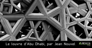 Photo noir et blanc du Louvre d'Abu-dhabi par Jean Nouvel