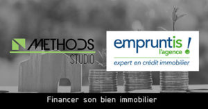 Logos of the co-authors of the article on the financing of real estate